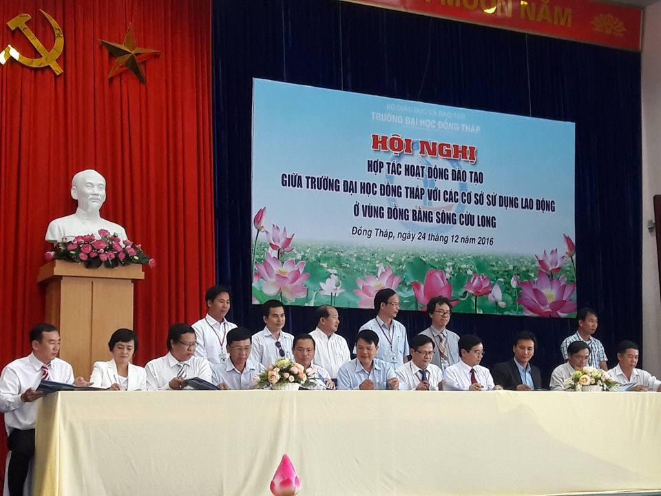 Khu di tích Nguyễn Sinh Sắc ký kết hợp tác với Trường Đại học Đồng Tháp