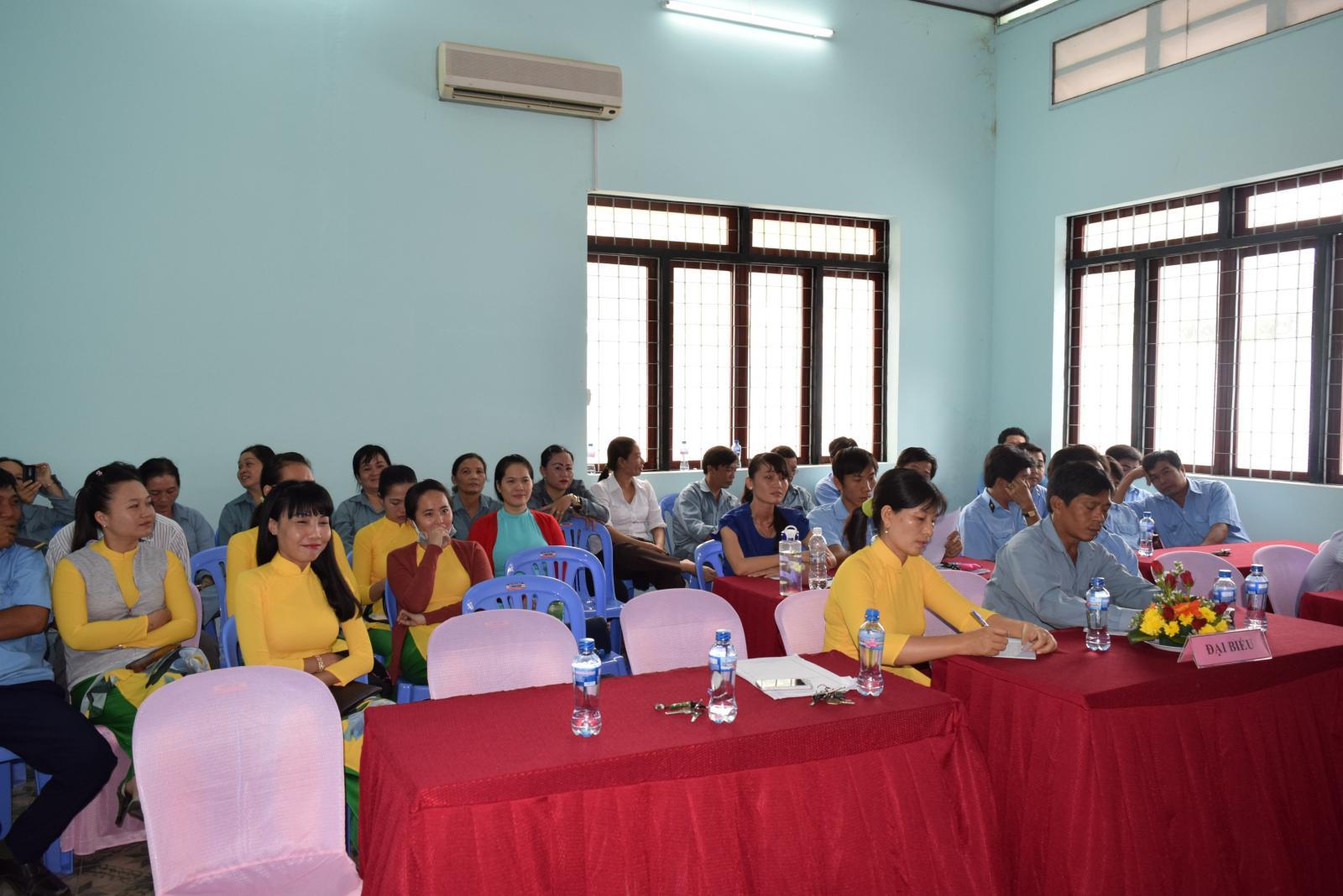 Hội nghị Cán bộ, Công chức, Viên chức Khu di tích Nguyễn Sinh Sắc năm 2017