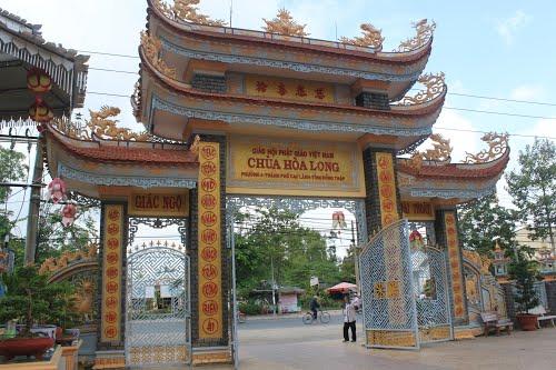 Chùa Hòa Long và Cụ Phó bảng Nguyễn Sinh Sắc.