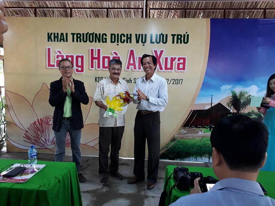 Dịch vụ lưu trú Làng Hòa An xưa tại Khu di tích Nguyễn Sinh Sắc