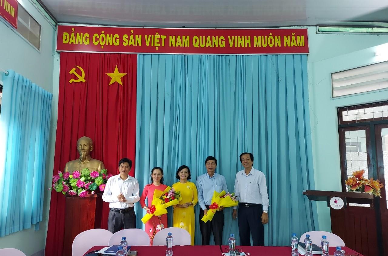 Khu di tích Nguyễn Sinh Sắcchào đón hai tân Phó giám đốc