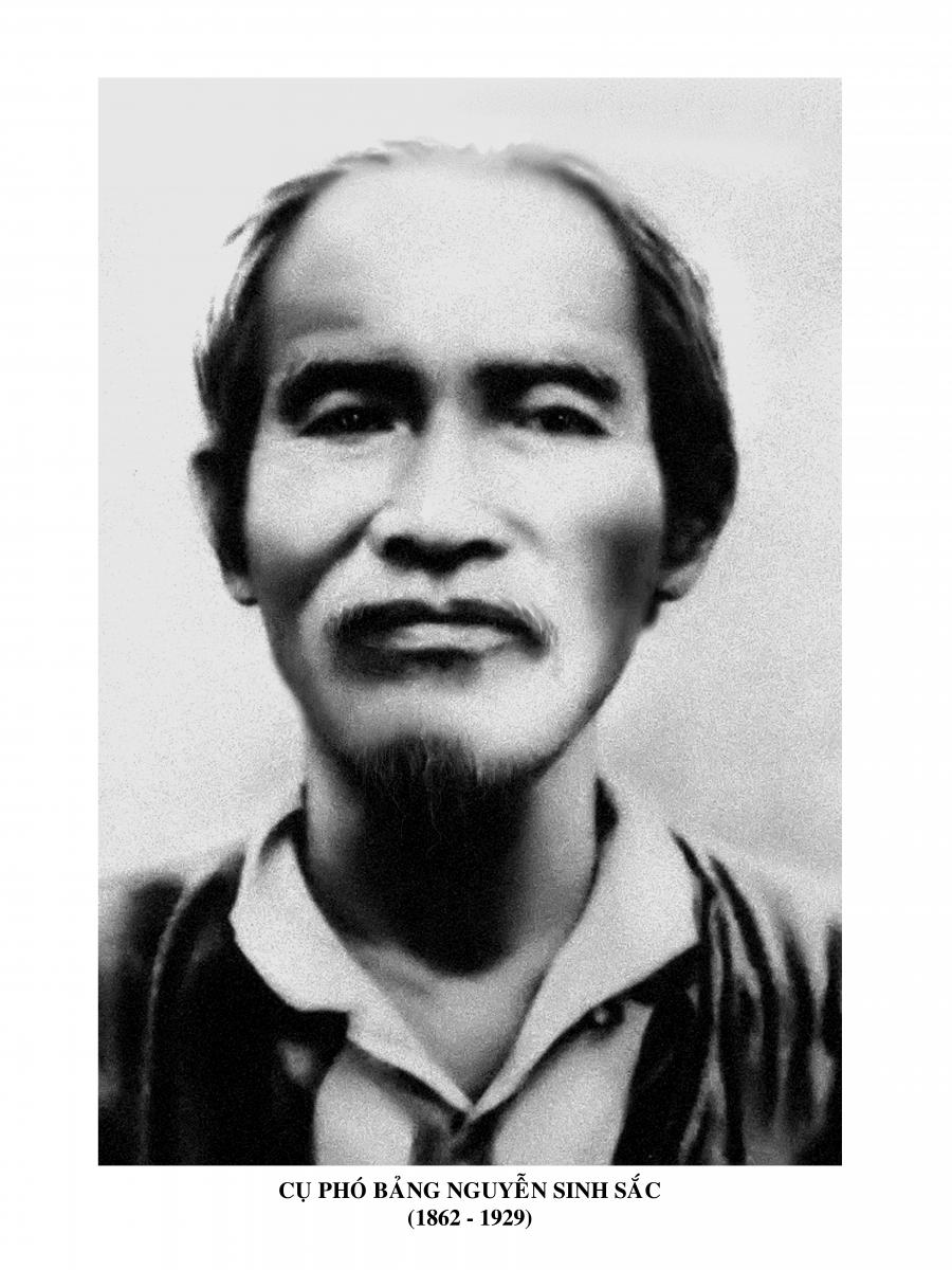 Tóm tắt tiểu sử và sự nghiệp của cụ Phó bảng Nguyễn Sinh Sắc