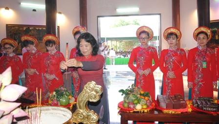 Những chương trình chính của lễ giỗ lần thứ 87 cụ Phó bảng Nguyễn Sinh Sắc