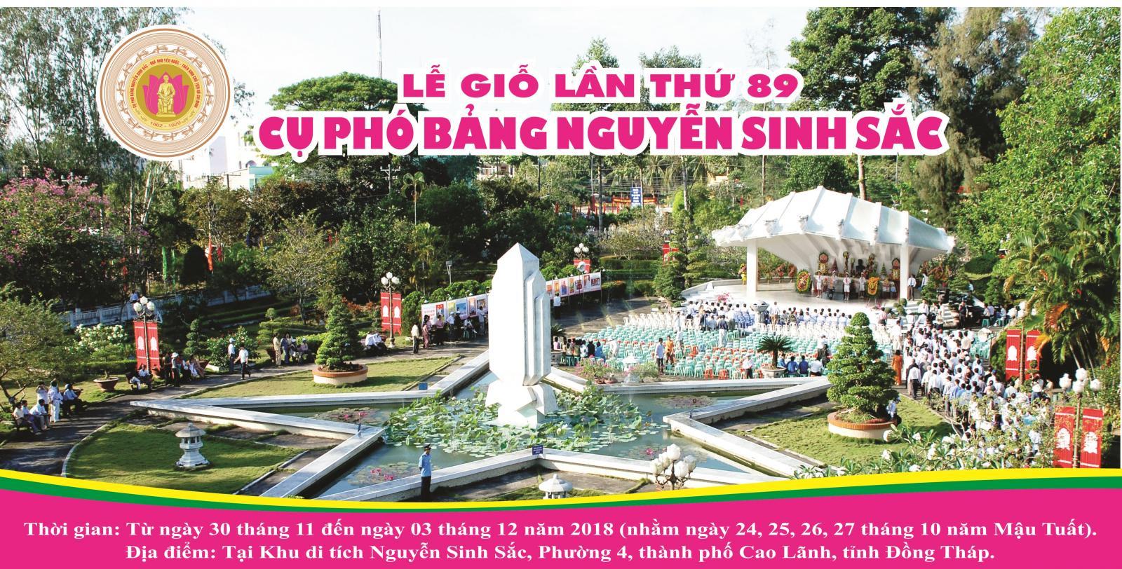 Long trọng tổ chức lễ giỗ lần thứ 89 của Cụ phó bảng Nguyễn Sinh Sắc