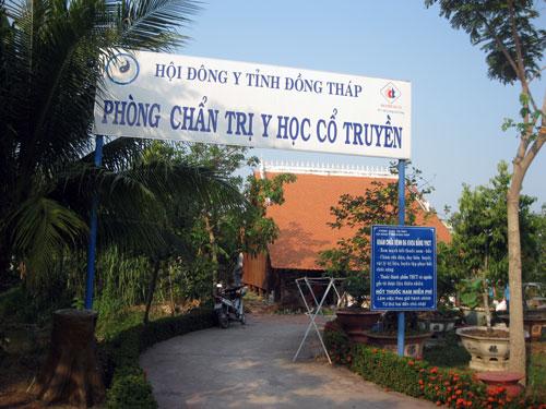 Phòng chẩn trị y học cổ truyền tại KDT Nguyễn Sinh Sắc